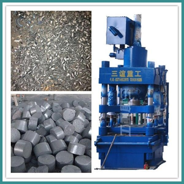 Cheap Fully Automatic High-density Metal Scrap Briquette Machine for sale