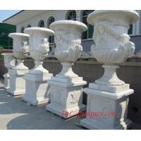 Quality big marble planter wholesale