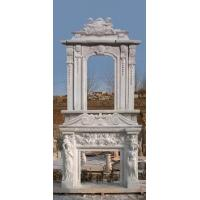 Quality marble fireplace mantel wholesale