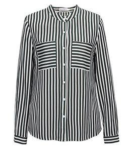 Cheap Top SH-381 Ladies stripe shirt for sale