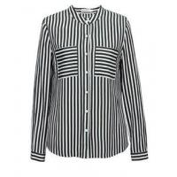 Quality Top SH-381 Ladies stripe shirt wholesale
