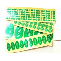 Best Adhesive label ROHS tag wholesale