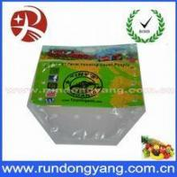 Best Fruit bag Resealable printing fruit plastic packaging bags wholesale