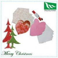 Best To show your love!! Romantic heart shape handmade greeting card wholesale