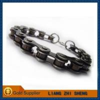 China hot selling vintage bicycle stainless steel bracelet on sale