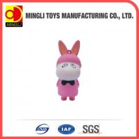 Best PU Stress Toys Hot new products Mini keychain rabbit action figures for baby toy wholesale