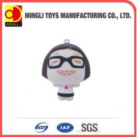 Best PU Stress Toys Factory custom Mini keychain Cartoon action figures for baby toy wholesale