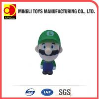 Best PU Stress Toys 2015 new Mini keychain Super Mario Action Figure for baby toy wholesale