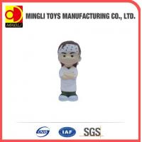 Best PU Stress Toys Special cute Mini keychain Ninja Kids Action Figure for baby toy wholesale