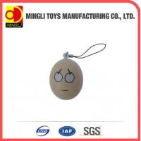 Best PU Stress Toys Easter eggs shape keychain toy wholesale