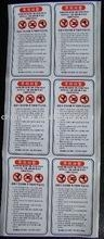 Cheap OEM adhesive label paper for sale