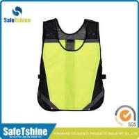 Best 2015 the best sell unisex fluorescent reflective vest for running or cycling wholesale