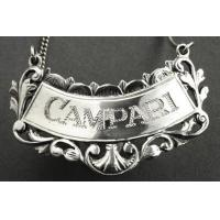 Best Campari Sterling Silver Wine Label wholesale