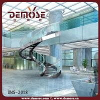 Best Indoor Spiral Stairs with Glass Railing wholesale