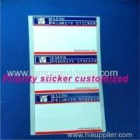 Best 2014 Latest Style Priority Sticker Customized wholesale