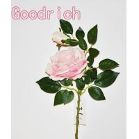 Quality GR-2331 real touch single stem rose wholesale
