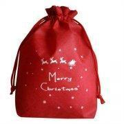 Best drawstring non woven christmas gift bags wholesale