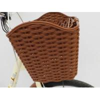 China Bicycle Accessories vintage style bicycle basket on sale