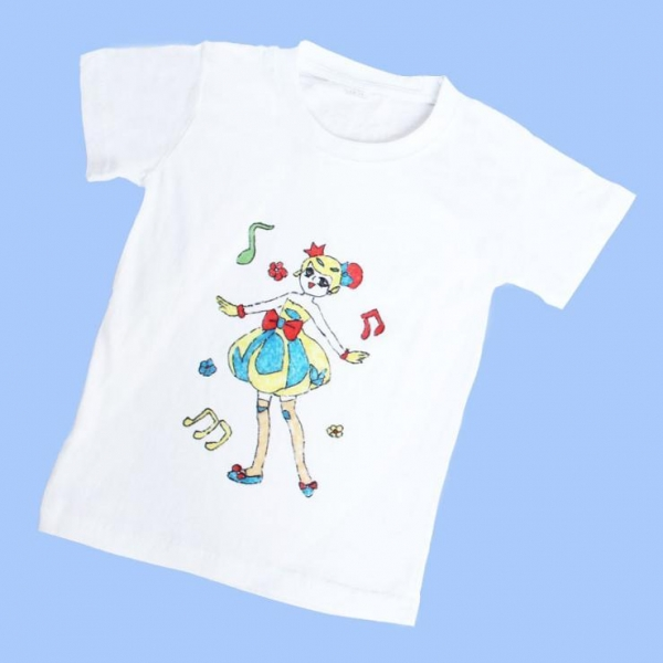 Cheap Diy your own T-shirt with washable marker toy for sale