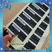 Best Silver Sticker, Silver adhesive Sticker,Silver Custom Sticker wholesale