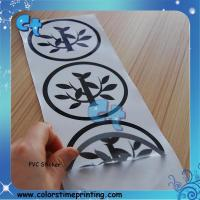 Best Die-cut round shape PVC sticker wholesale