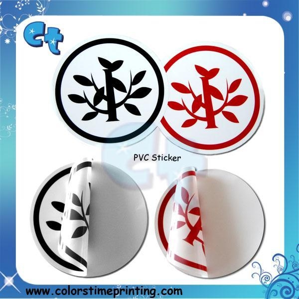 Cheap High quality PVC sticker for sale