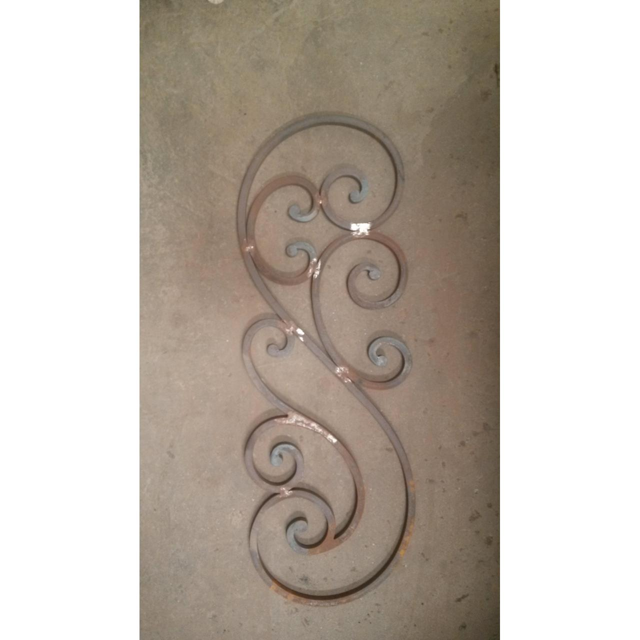 Quality Iron Ornamental Stairs and Accessories Item: rosttes for staircase wholesale