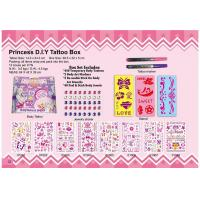 Best princess DIY tattoo box wholesale