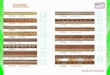 Cheap mosaic gold polyurethane hand painted mouldings cornice for sale