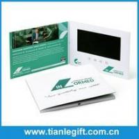 Best Advertising promotional product 7 inch tft lcd video brochure wholesale