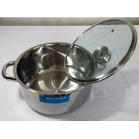 Buy cheap 1 bottom pot, glass lid BTP 24 from wholesalers