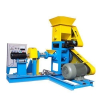 Best Floating fish feed pellet machine price,fish feed pelletizer for catfish wholesale