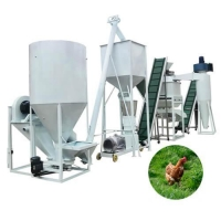Buy cheap Small poultry feed production plant, cattle feed pellet mill plant from wholesalers