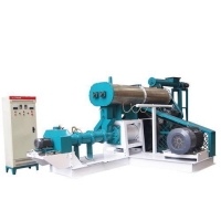 Buy cheap Floating fish feed extruder machine price ,single screw extruder supplier from wholesalers