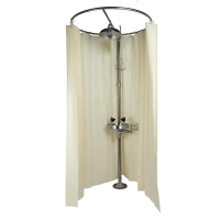 Buy cheap Emergency Shower and Eyewashes, Stainless Steel, with Curtain, Model: ESW010MH-C from wholesalers