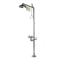 Buy cheap Emergency Shower and Eyewashes, Stainless Steel, Standard, Model: ESW010MS from wholesalers