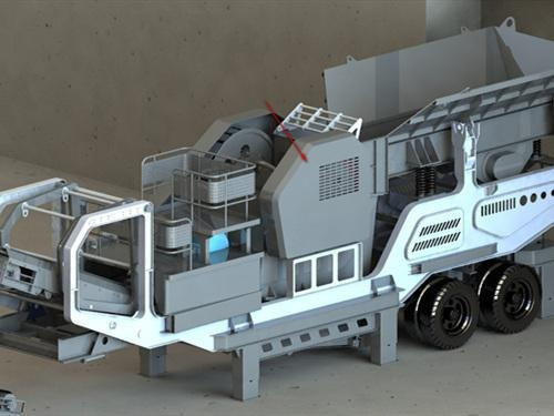 China KY Series Portable Jaw Crusher