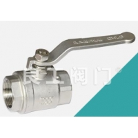 Best Stainless Steel 2 Piece Ball Valve, Threaded, 1/4-4 Inch wholesale