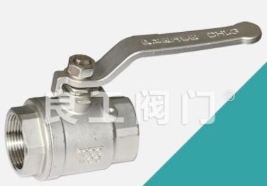 China Stainless Steel 2 Piece Ball Valve, Threaded, 1/4-4 Inch
