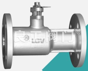 China Ductile Iron One Piece Ball Valve, Flanged, DN15-DN200
