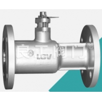 Buy cheap Ductile Iron One Piece Ball Valve, Flanged, DN15-DN200 from wholesalers