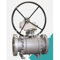 Buy cheap Forged Steel Metal Seated Ball Valve, 1 1/2-24 Inch from wholesalers