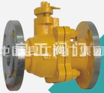 China Carbon Steel Liquefied Gas DBB Ball Valve, DN40-DN600