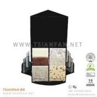 Buy cheap Acrylic Artificial Stone Sample Countertop Display Stand from wholesalers
