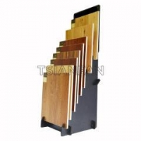 Buy cheap Customized Single side Display Stand For Retail Store For Wooden Floor Display from wholesalers