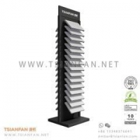 Buy cheap Double Faced Stone Display Tower from wholesalers