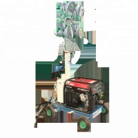 Buy cheap Trolley Light Tower from wholesalers