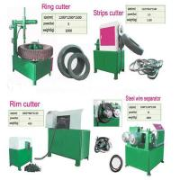 Buy cheap Manual Tyre Cutting Machine from wholesalers