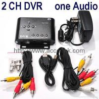 Buy cheap 2-Channel CCTV Surveillance SD DVR Home Surveillance Recorder Motion Detection from wholesalers